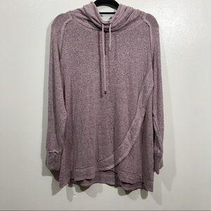 Chelsea & Theodore Cowl Neck Sweater